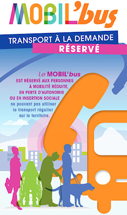 Transport des PMR Mobil'bus